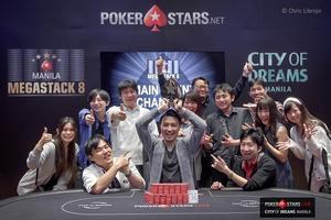 Akinari Yokomizo, Manila Megastack 8 champion.jpg